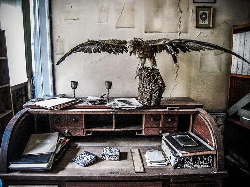 escritorio do meu pai