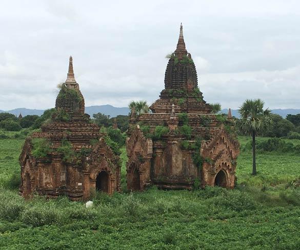 Templos em Myanmar