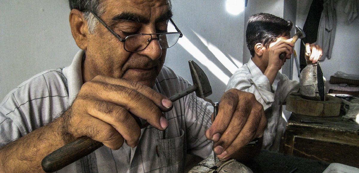 artesãos do Irão